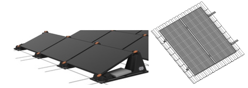 Päikesepaneelid, kinnituskonstruktsioonid